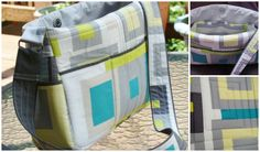 """My friend Kathy made this bag. She will likely step into eternity today following a terrible stroke last Monday.  I would love for her to win this contest.   """"Chic Mom"""" diaper bag by Kathy Jackson #MakeitRight"""