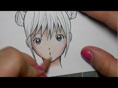 How to Colour Light Skin with Pencil Crayons - YouTube