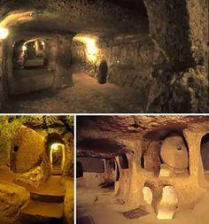 石器時代の長大トンネル 1万2000年前の石器時代に作られた巨大な網状の地下トンネルは、東はトルコから西はスコットランドまでヨーロッパ各地に見られる。この地下遺跡がどんな方法で作られたのか分かっておらず、また、その目的も分かっていない。