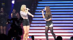 "Sara Bareilles + Taylor Swift  sing ""Brave"" together I LOVE THIS SO MUCH"