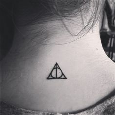 Pin for Later: 100 Real-Girl Tiny Tattoo Ideas For Your First Ink Harry Potter Fan