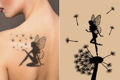 Fairy tattoo for women