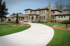 Stunning Custom Home Exterior