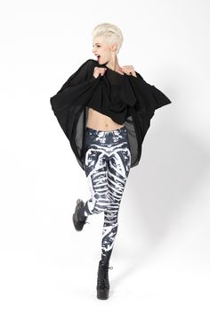 Bone Machine 2.0 Leggings Limited