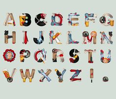 Typographic Illustration: Shaun of The Dead Inspired