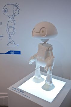 Meet Jimmy, Intel's 3D-printed robot for consumers (Wired UK)