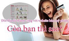 Thiết kế website bán mỹ phẩm, nước hoa, phụ kiện online