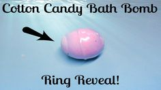 Fragrant Jewels Ring Reveal - Cotton Candy Bath Bomb!