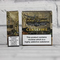 We're proud to announce that we now have the CeaseFire  Colone... available at Van Dyke Vapes. Come take a look! http://vandykevapes.com/products/ceasefire-colonel-booms?utm_campaign=social_autopilot&utm_source=pin&utm_medium=pin