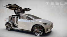 Animated 3D Tesla Model X On Sketchfab - Particle News