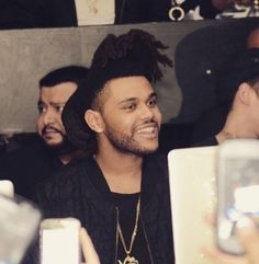 The Weeknd! His smile xo