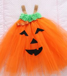 Items similar to Adorable Baby Pumpkin Costume Pumpkin Tutu Dress For Baby Girl Months Baby Halloween on Etsy Kids Pumpkin Costume, Pumpkin Tutu, Cute Pumpkin, Baby In Pumpkin, Halloween Pumpkins, Diy Girls Costumes, Old Halloween Costumes, Baby Costumes, Costume Ideas