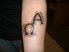 The 42 best Alpha And Omega Tattoos images on Pinterest | Alpha ...