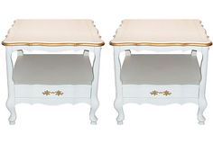 French Side Tables, Pair on OneKingsLane.com