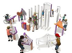 Freenotes Harmony Park – Outdoor Musical Instruments