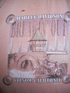 Vintage 1993 HARLEY DAVIDSON tee t shirt by ATELIERVINTAGESHOP, $32.00