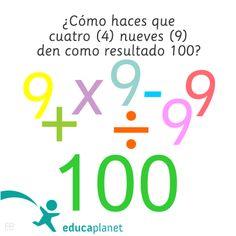 Acertijo matemáticas operaciones