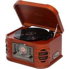 Toca Discos Clássico Retrô Crosley New York, Reproduz LP, CD, MP3 e Rádio Am/Fm. R$862.20