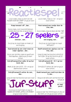 Juf-Stuff: Reactiespel Learning Quotes, Kids Learning, Conscious Discipline, Becoming A Teacher, Primary School, Kids Education, Teacher Resources, Back To School, Gaming