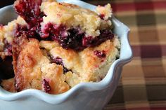 Rustic cobbler recipe..I'll try it with almond meal/flour instead..mmmmm...good recipe for girls to make