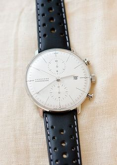Max Bill Chronoscope for Junghans Cool Watches, Watches For Men, Modern Watches, Gents Watches, Junghans, Beautiful Watches, Luxury Watches, Vintage Watches, Fashion Watches
