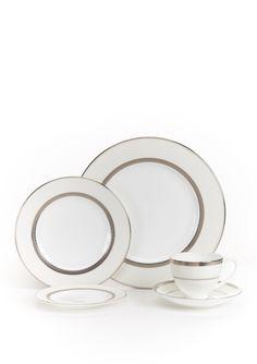Platinum Dinnerware Set