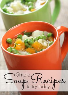 Whether you're eating them for lunch or family dinner, looking for a healthy meal or just want a creative way to eat more chicken and quinoa, you'll love these 25 delicious, simple soup recipes!