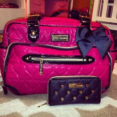 Betsey Johnson Diaper Bag