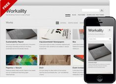 Workality Lite - Free Responsive Wordpress Theme for Creatives