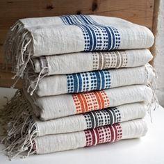 Fair Trade Aden Turkish Bath Towels - Bath Towel - Ideas of Bath Towel - Fair Trade Striped Turkish Cotton Bath Towels Textiles, Turkish Bath Towels, Decor Scandinavian, Towel Wrap, Towel Set, Striped Towels, Boho Home, Home Textile, Fair Trade