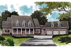 Elevation of Colonial   Cottage   Country   Farmhouse  Traditional   House Plan 85533