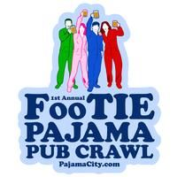 Annual Footie Pajama Pub Crawl for Charity Going Away Parties, Pub Crawl, Party Themes, Party Ideas, Charity, Pajamas, Bar, Future, School