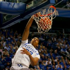 Anthony Davis is longer than your whole team.  Combined.   Kentucky Basketball 2011-2012