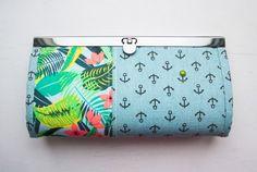 Tiny zipper pouch, coin purse. DIY Tutorial