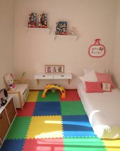 15 Best Montessori Bedroom Design For Happy Kids Some people decide to co-sleep in precisely the same bed with the baby. Developing a space-themed bedroom by means of your kid is an enjoyable and amazing way to stimulate your youngster's im… Baby Bedroom, Baby Boy Rooms, Girls Bedroom, Trendy Bedroom, Bedroom Themes, Baby Boy Decorations, Kids Decor, Baby Playroom, Playroom Ideas