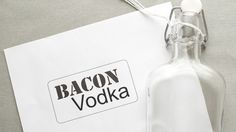 How to Make Bacon Infused Vodka Bacon Lover? If so, try your hand in some bacon infused vodka! Vodka Recipes, Bacon Recipes, Drink Recipes, Margarita Recipes, Bacon Vodka, Bacon Bacon, Pickle Vodka, Infused Vodka, Vodka Bar