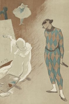 Henri Gabriel Ibels (1867 - 1936), Salon des Cent, Van Gogh Museum, Amsterdam (Vincent van Gogh Foundation).