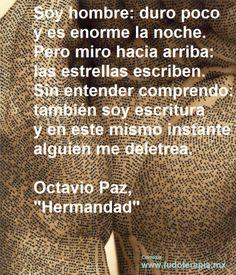 Hermandad de Octavio Paz