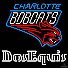 Dos Equis Charlotte Bobcats Neon Sign NBA Teams Neon Light