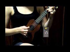 Ukulele Tutorial for Beginners - Dream a Little Dream of Me - YouTube