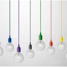 The Pendant Lamp was designed by Matthias Stahlbom for the Danish manufacturer Muuto. A socket, the exceptionally large bulb with a Ø 125 mm diameter, a 4 Muuto Lighting, Bright Lights, New Kitchen, Kitchen Ideas, Pendant Lamp, Gadget, Designer, New Homes, Bulb