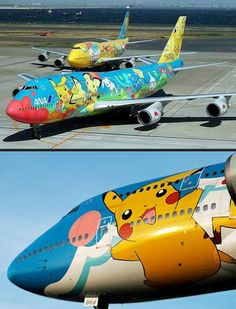 Pokeplane!! PikaPlane! But I thought flying was weak against electric?? <<< pinning for that comment right there, lol.