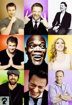 Smiling Avengers