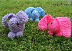 Baby Bunny Amigurumi Pattern - Simply Collectible Crochet brings you another adorable amigurumi pattern that works up quickly. Baby Bunny amigurumi pattern
