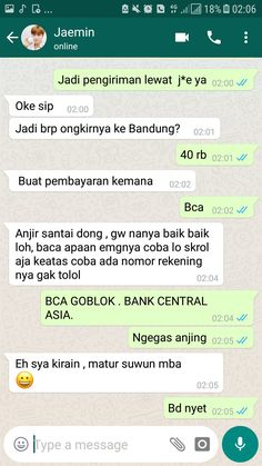 ketika member nct beli barang di onlineshop WARNING ⚠️ GAJE KRESS … #humor # Humor # amreading # books # wattpad Text Pranks, Text Jokes, Funny Pranks, Funny Texts, Funny Jokes, Funny Quotes Tumblr, Jokes Quotes, Funny Text Pictures, Funny Chat