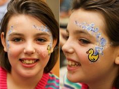 Are you new to face painting? Welcome to a fun adventure that provides a little bit of simple joy to everyone! Craft Tutorials, Craft Projects, Projects To Try, Easter Face Paint, Mime Face Paint, Duck Face, Face Painting Designs, Painting Lessons, Craft Patterns