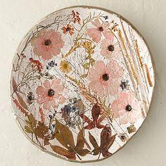 Wildflower Series Round Platter