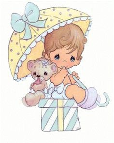 New baby boy illustration precious moments ideas Precious Moments Quotes, Precious Moments Coloring Pages, Precious Moments Figurines, Clipart Baby, Boy Illustration, Art Birthday, Gif Animé, Animated Gif, My Precious