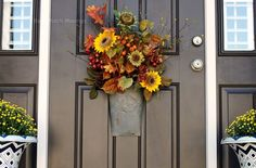 Knock Knock - Back Porch Musings~Door Embellishment