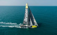 January 27, 2015. Team Brunel arrives in Sanya in fifth position, after 23 days of sailing. Victor Fraile/Volvo Ocean Race